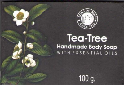 Indisk tvål Tea- Tree