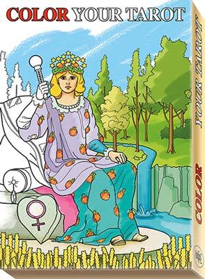 Color your tarot (Stora Arkanan)